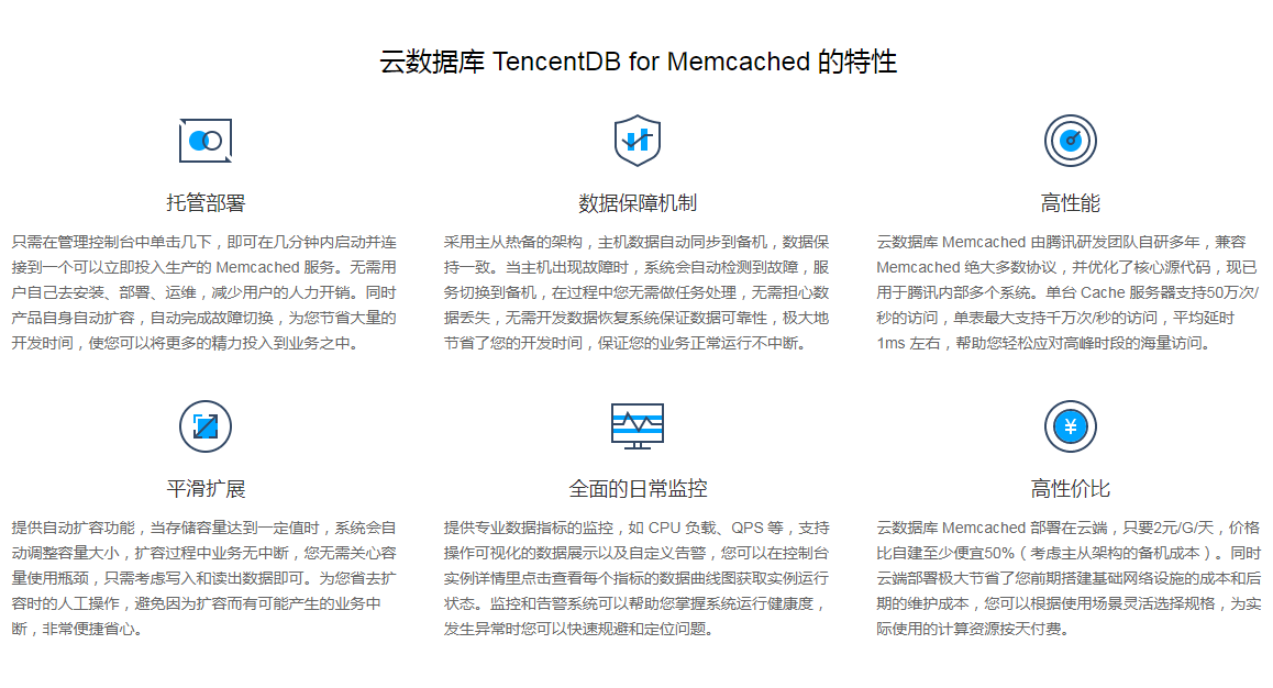 云数据库TencentDBforMemcached