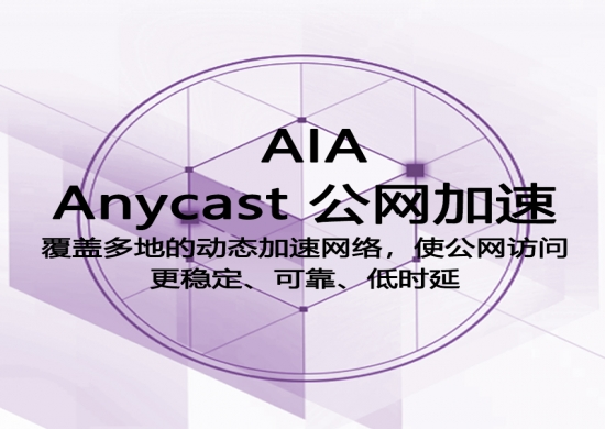 Anycast公网加速AIA
